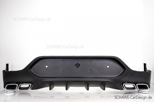 GLC 63 AMG Diffusor mit Auspuffblenden | GLC Coupé C253 | Original Mercedes-Benz