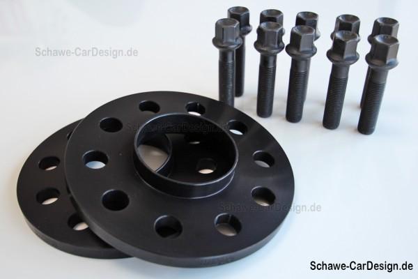 Spurverbreiterung 20 mm VA und 36 mm HA | Audi A5 | H&R Distanzscheiben