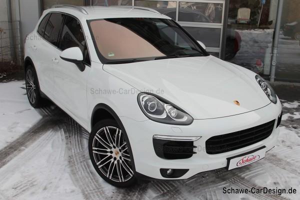 SCHAWE Multimedia Paket | Fond Entertainment System | Porsche Cayenne 958 | Spezialanfertigung