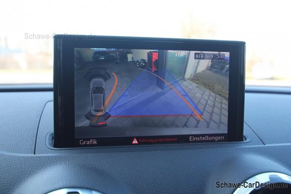Nachrüstung Rückfahrkamera High | Audi A3 8V | Original Audi Kamera