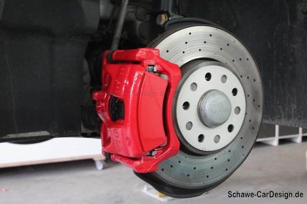 Lackierung Bremsanlage SCHAWE Bremssattel | A-Klasse W176 | Spezialanfertigung