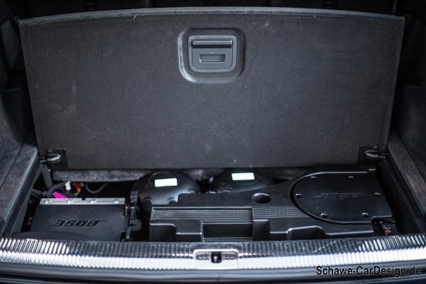 Nachrüstung: Active Sound Exhaust System | Audi Q7 4M | V8 Motorsound mit App-Steuerung