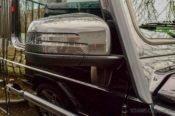 SCHAWE Carbon Außenspiegelgehäuse | G-Klasse W463 | Spezialanfertigung