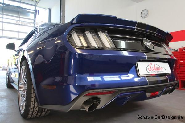 Nachrüstung: Active Sound Exhaust System | Ford Mustang Ecoboost | V8 Motorsound mit App-Steuerung