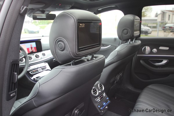SCHAWE Fond Entertainment System | Mercedes-Benz E-Klasse W213 | Multimedia Paket