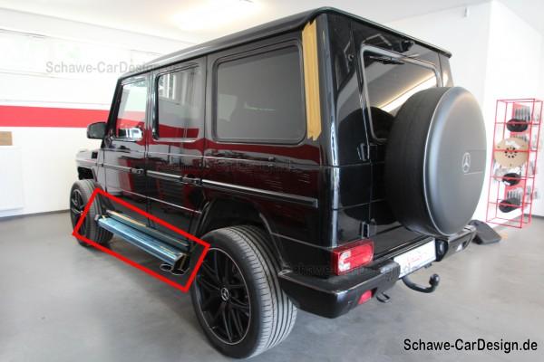 Trittbretter seitlich Code T84 | W463 G-Klasse | Original Mercedes-Benz