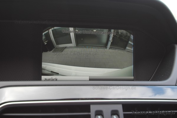 Nachrüstung Rückfahrkamera Code 218 | C-Klasse W204 | Original Mercedes-Benz