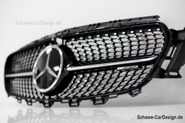 E43 AMG Diamantgrill Diamant- Kühlergrill | E-Klasse W213 | Original Mercedes-Benz