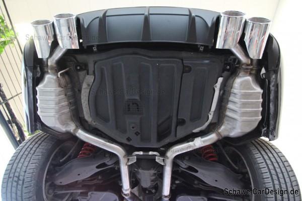 C63 AMG Auspuffanlage | C-Klasse Facelift W204 | Original Mercedes-Benz