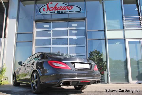 CLS 63 AMG Diffusor mit Auspuffblenden | CLS W218 | Original Mercedes-Benz
