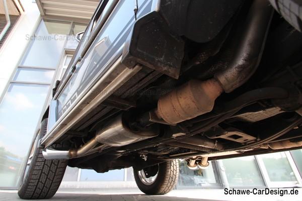 SCHAWE G63 AMG Auspuffanlage für G500 Cabrio | G-Klasse W463 | Spezialanfertigung