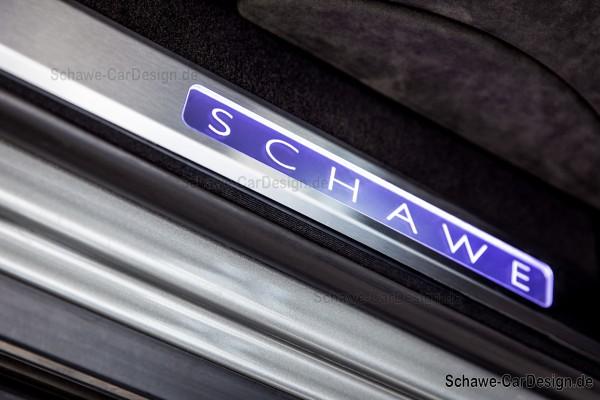 SCHAWE Einstiegsleisten beleuchtet | G-Klasse W464 | Spezialanfertigung aus Edelstahl