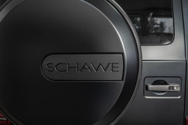 SCHAWE Carbon Abdeckung Ring Ersatzrad | G-Klasse W463A | Carbon matt oder Glanz