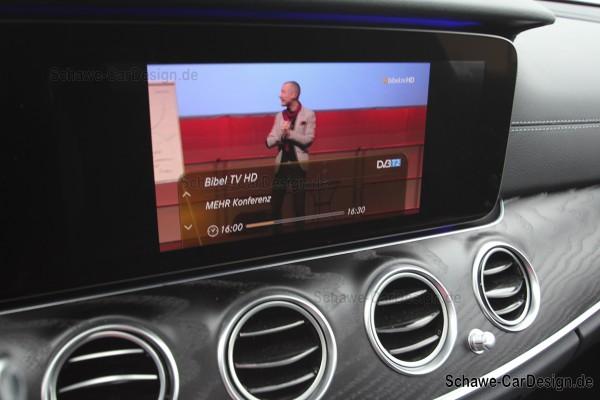Nachrüstung DVBT2 TV-Tuner Code 865 | E-Klasse W213 | Original Mercedes-Benz