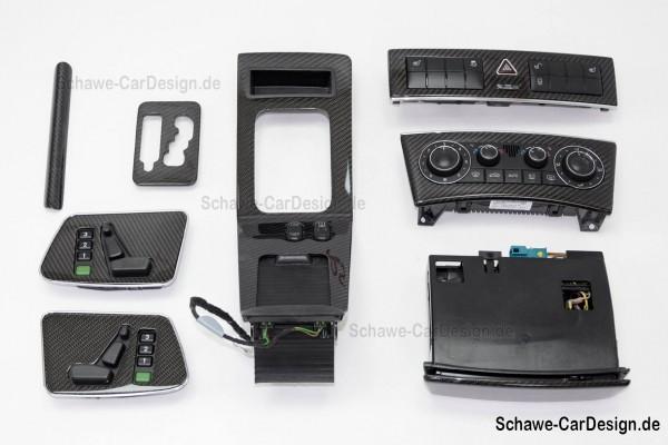 Nachrüstung: Carbon Zierelemente Interieur | G-Klasse W463 bis Bj 2012 | SCHAWE Carbonbeschichtung