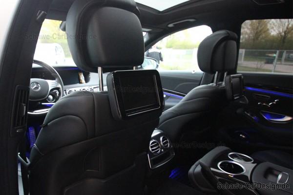 SCHAWE Fond Entertainment System | Mercedes-Benz S-Klasse W222 | Spezialanfertigung