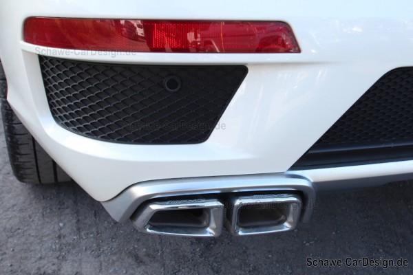GL 63 AMG Diffusor mit Auspuffblenden | GL-Klasse W166 | Original Mercedes-Benz
