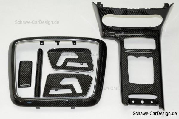 Nachrüstung: Carbon Zierelemente Interieur | G-Klasse W463 | SCHAWE Carbonbeschichtung