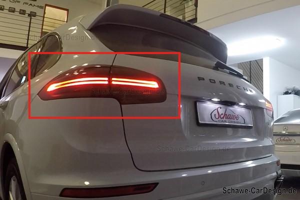 Porsche LED Rückleuchten abgedunkelt | Porsche Cayenne 958 | Original Porsche