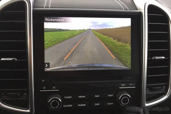 Nachrüstung Rückfahrkamera | Porsche Cayenne 958 Facelift | Porsche Kamera