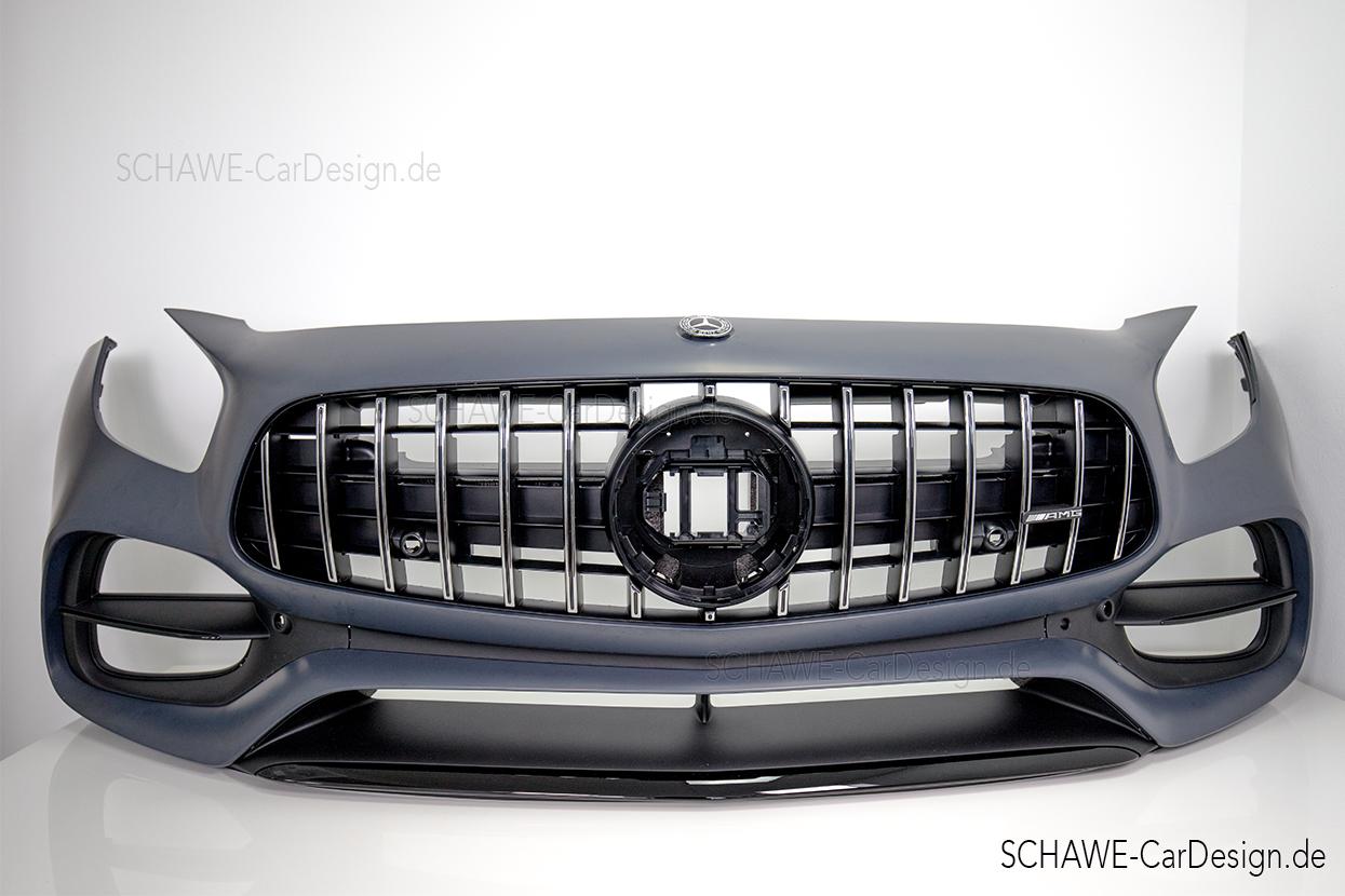 Umbau Mercedes Benz Gt Auf Amg Gt Facelift Optik