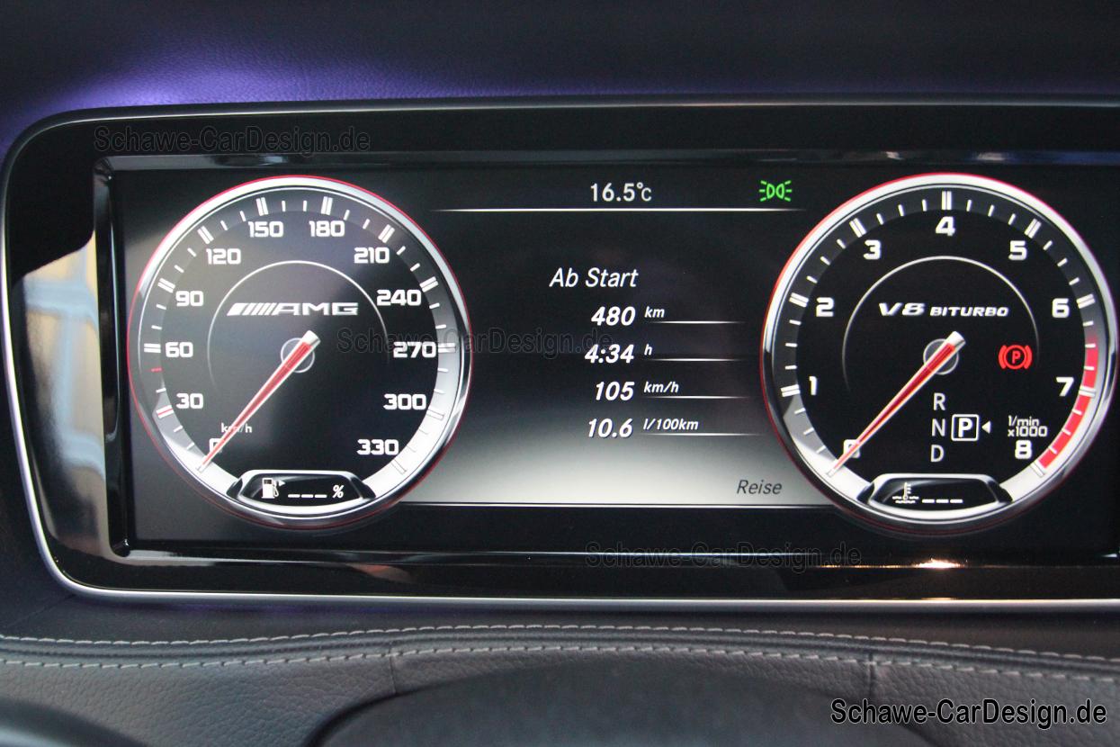 Nachrüstung: S63 AMG Kombiinstrument für S-Klasse (W222 ...