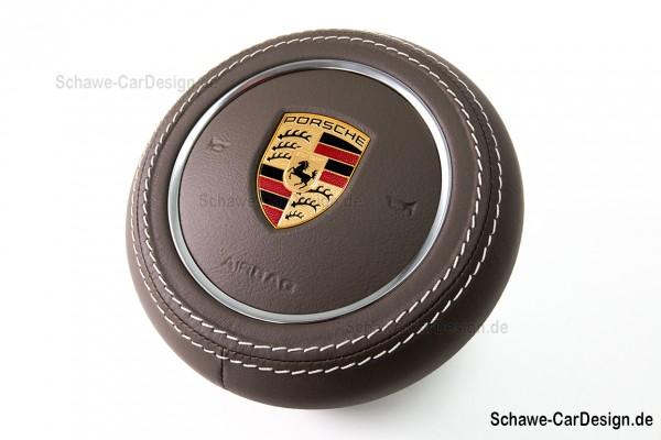 Airbag Abdeckung in Nappa Leder | Porsche Cayenne Facelift 958 | Panamera 971 | Spezialanfe