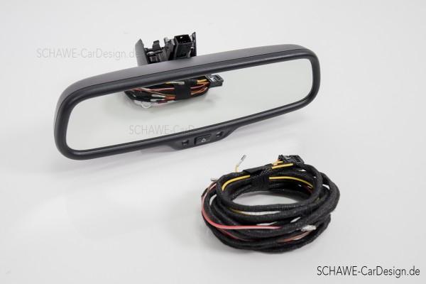 Nachrüstung Fernlichtassistent   Audi Q5 8R   Original Audi Rückspiegel