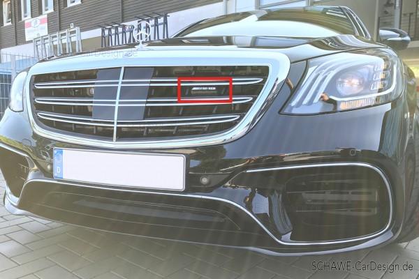 AMG Emblem für Kühlerverkleidung Kühlergrill | S-Klasse W222 | Original Mercedes-Benz