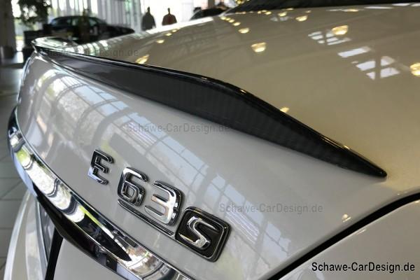 E63 AMG Heckspoiler aus Carbon | E-Klasse W213 | Original Mercedes-Benz