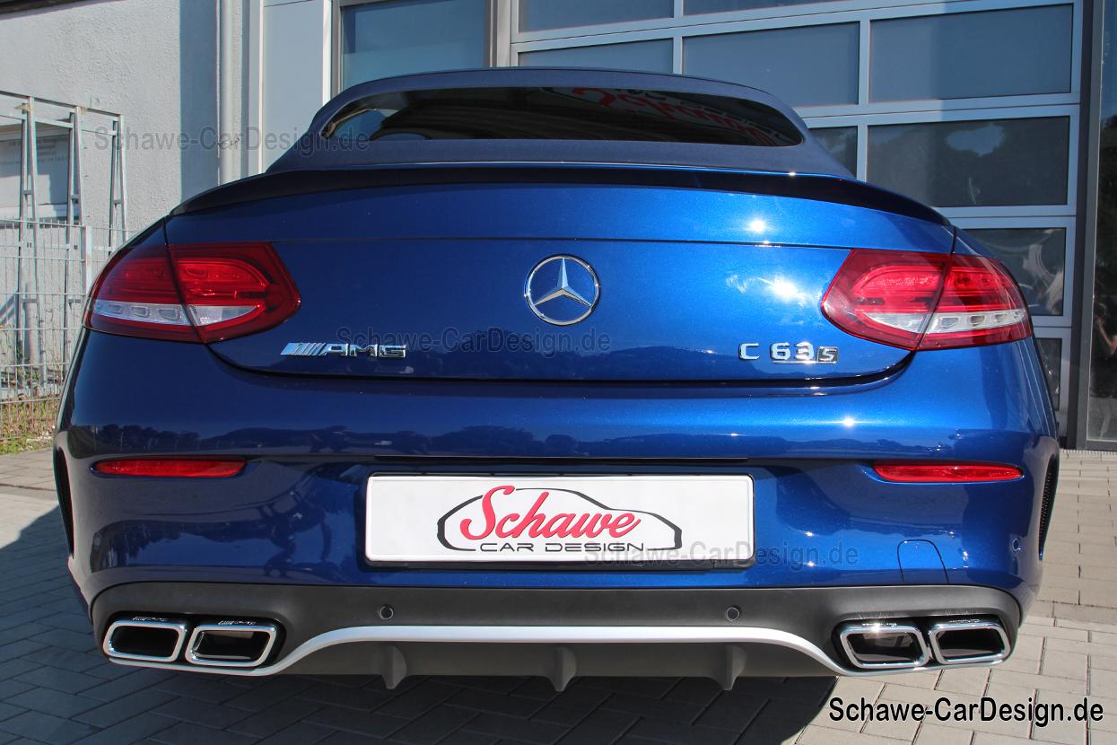 2016 Mercedes Benz Sprinter >> Nachrüstung: C63 AMG Heckspoiler für Mercedes-Benz C ...
