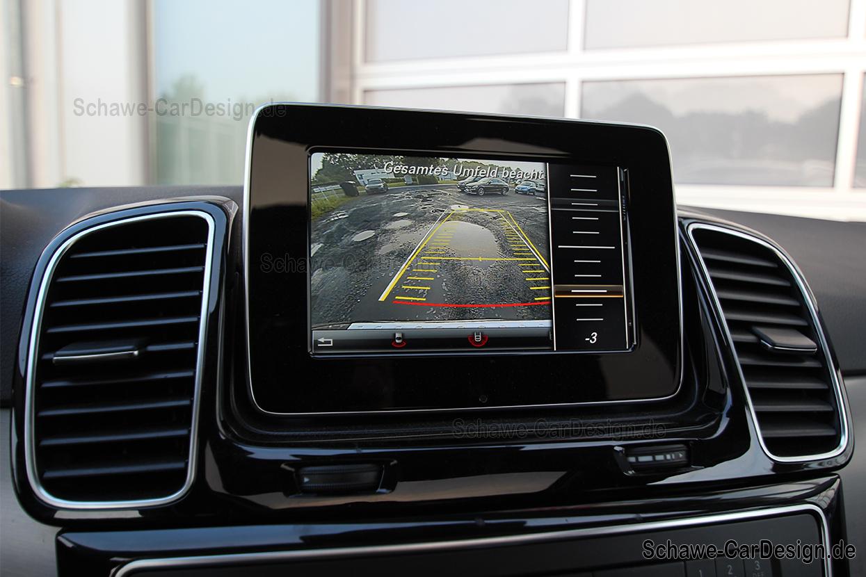Mercedes Gle Coupe >> Nachrüstung Rückfahrkamera Code 218 | GLE SUV W166 ...