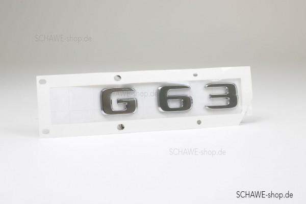 Typenkennzeichen G63 | G63 AMG 463A | Original Mercedes-Benz