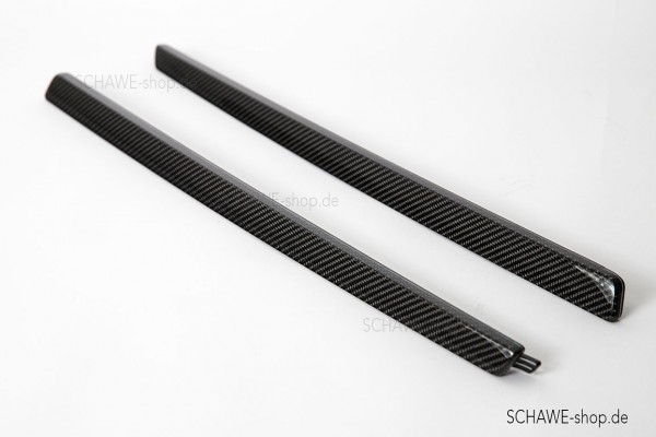 SCHAWE Carbon Zierleiste Türverkleidung | GTS 190 | Spezialanfertigung in matt oder Glanz Carbon