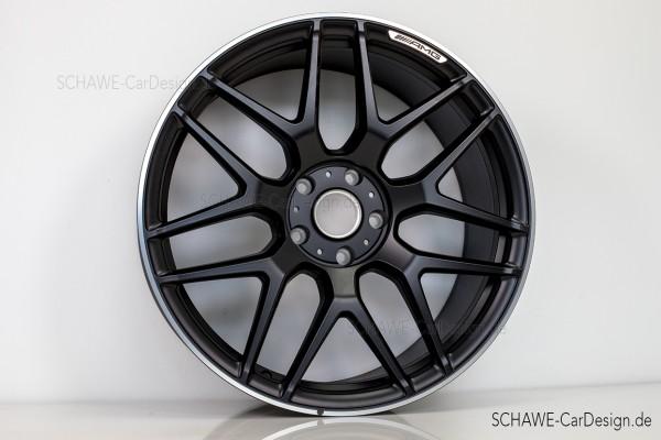 22 Zoll Felgensatz G63 AMG schwarz-matt | W464 G-Klasse | Original Mercedes-Benz