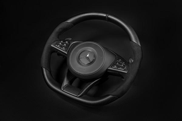 SCHAWE Carbon Lenkrad mit 12-Uhr-Markierung