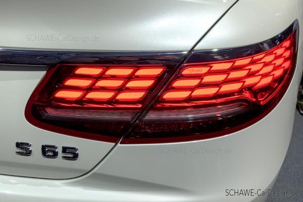 OLED Rückleuchten Facelift Heckleuchten | S-Klasse C217 oder A217 | Original Mercedes-Benz