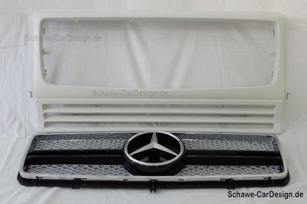 G65 AMG Kühlerverkleidung Kühlergrill | W463 G-Klasse | Original Mercedes-Benz
