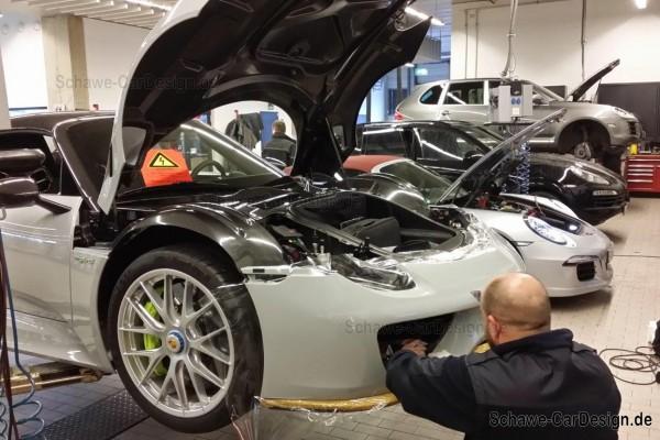SCHAWE Steinschlagschutz Stoßstange vorne | Porsche 918 | Spezialanf