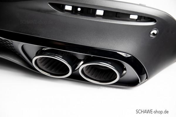 GLE 53 AMG Auspuffblenden mit Diffusor | GLE SUV V167 oder GLS X167 | Original Mercedes-Benz