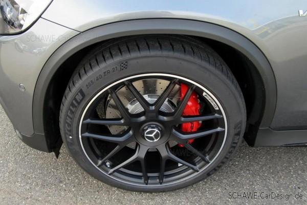 21 Zoll Felgensatz GLC63 AMG schwarz-matt | GLC 253 SUV oder Coupé | Original Mercedes-Benz