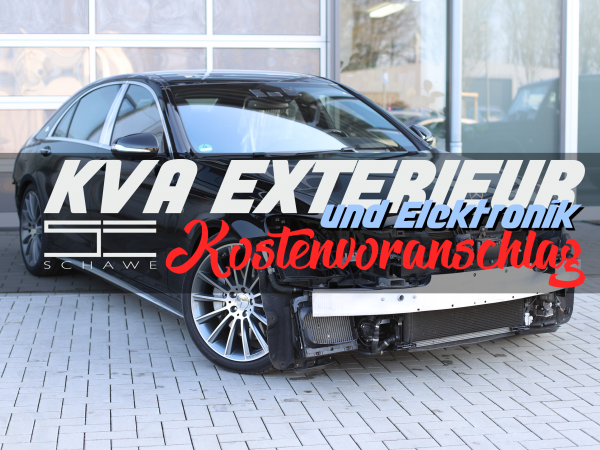 KVA Exterieur mit Elektronik | SCHAWE Kostenvoranschlag
