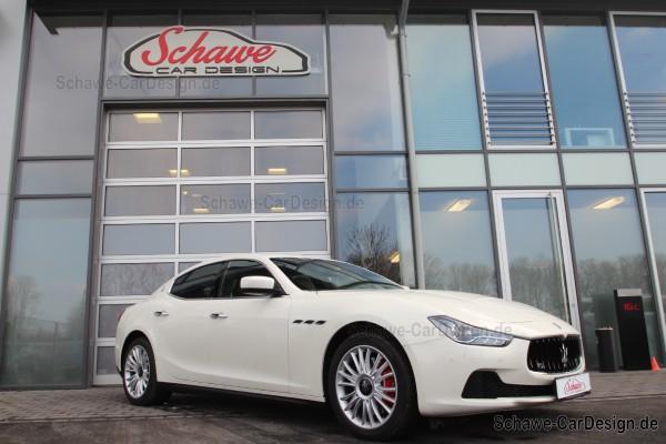 SCHAWE Soundbooster | Maserati Ghibli | Upgrade V8 Motorsound mit App-Steuerung