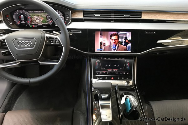 Bild-Freischaltung | TV-Freischaltung | DVD-Freischaltung | TV-Free für Audi A8 4N