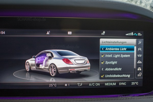 Erweiterung Ambientebeleuchtung | S-Klasse W222 | Original Mercedes-Benz