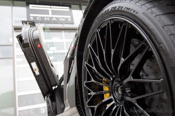 Lackierung Bremsanlage SCHAWE Bremssattel | Lamborghini Aventador | Spezialanfertigung