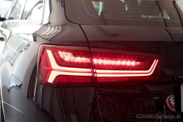 Conversion of AUDI A6 rear lights to facelift LED rear lights