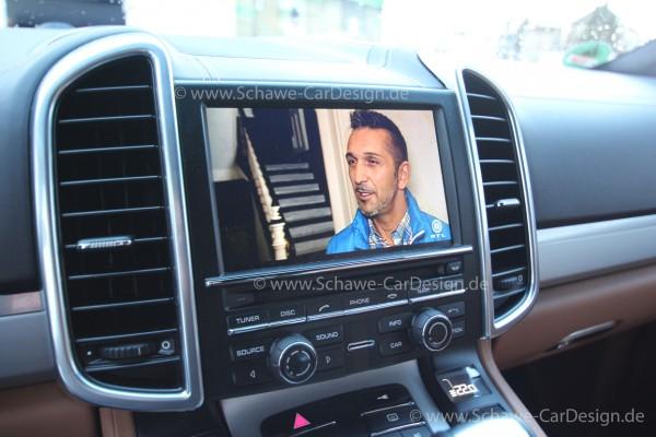 Bild-Freischaltung | TV-Freischaltung | TV-Free für Porsche PCM3.1