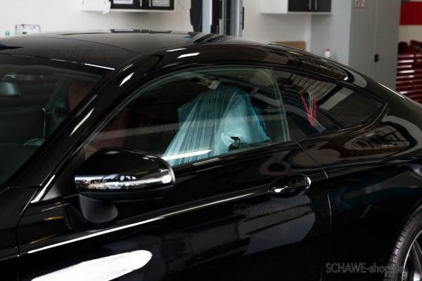 Zierleisten in schwarz für Fensterrahmen | C-Klasse Cabrio A205 oder Coupé C205 | Original Mercedes-Benz