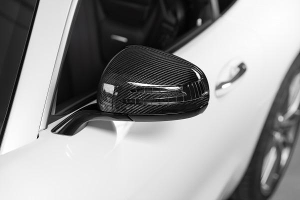 SCHAWE Carbon Außenspiegel | AMG GTS C190 | Spezialanfertigung in Glanz Carbon